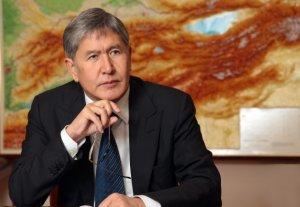 Фото Алмазбека Атамбаева будет опубликовано на обложке журнала ШОС