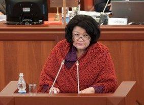 Депутат Жылдызкан Жолдошева рассказала директору ОТРК, как ему распределять финансы