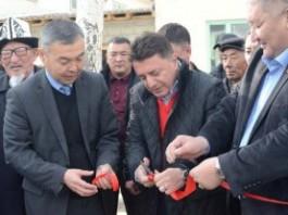 В Иссык-Кульской области открыли спортивный зал имени Суйунбека Сарбагышева