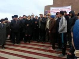 Шайлообек Атазов не готов стать народным губернатором
