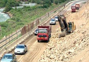 Строительные работы в Боомском ущелье завершатся в следующем году
