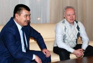 Сопредседатель партии «Замандаш-Современник» встретился с новым мэром Оша