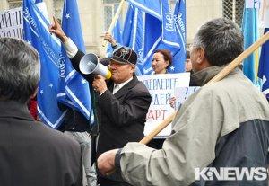 Экс-кандидат: «Последний мирный митинг будет завтра, после мы будем действовать незаконными методами»