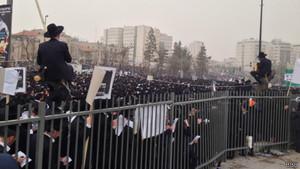 Израиль: протесты против призыва ортодоксов в армию