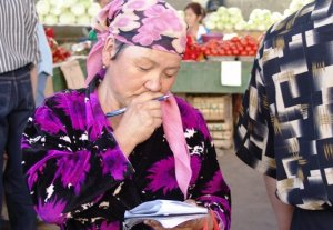В Бишкеке стало больше торговцев