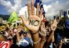 Греция: забастовка, марши протеста
