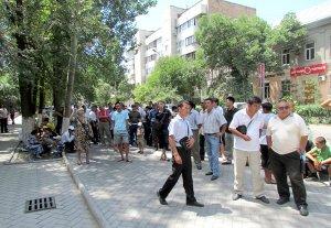 Митингующие: «MegaCom должен принадлежать народу»