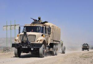 Солдаты Кыргызстана и Таджикистана отразили «вторжение» боевиков