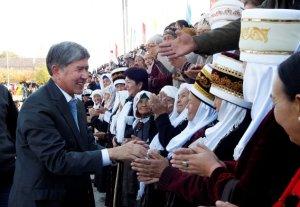 Алмазбек Атамбаев: «Я иду на выборы ради сохранения единства Кыргызстана и его народа»
