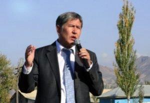 Алмазбек Атамбаев: «В сохранении стабильности в стране особая ответственность возложена на политиков»