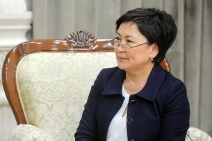 Уволилась министр образования Гульмира Кудайбердиева