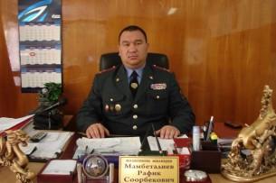Рафик Мамбеталиев узнал от журналистов о своем увольнении