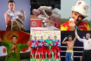 Самые сильные мужчины Кыргызстана