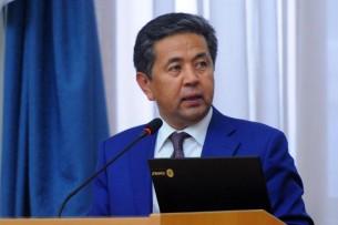Тайырбек Сарпашев освобожден от должности председателя Госрегистра
