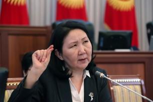 Дело Текебаева: Эльмира Ибраимова не помнит, чтобы Текебаев отлучался во время заседания ВП