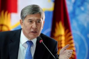 Атамбаев предложил депутатам ЖК расширить полномочия премьер-министра