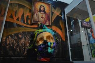В Бишкеке прошла первая выставка стрит-арт уличных художников «Дубал»