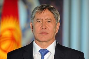 Алмазбек Атамбаев поздравил православных кыргызстанцев с Пасхой