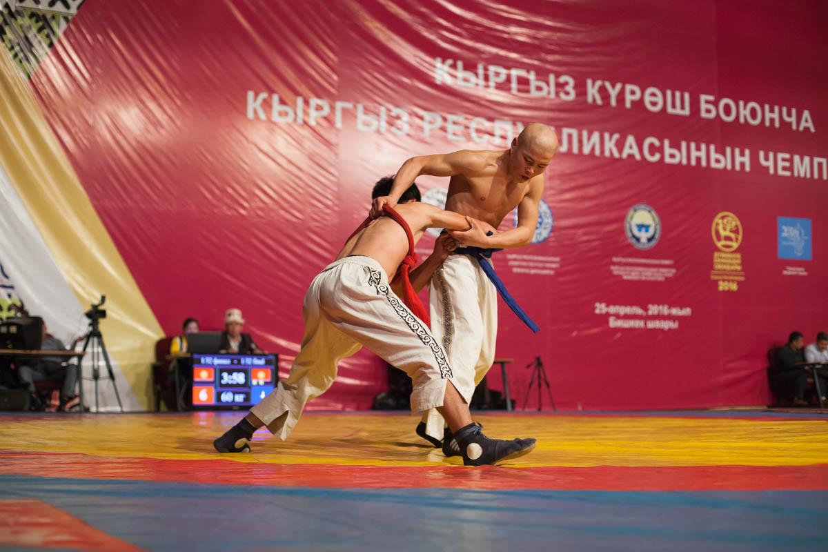 XI Республиканский турнир по кыргыз курош на призы Т.Мазиева
