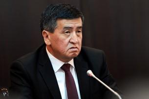 Сооронбай Жээнбеков поздравил кыргызстанцев с Днем защитника Отечества