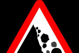 Движение в Боомском ущелье будет временно ограничено из-за спуска камней