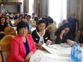 В Таласе проходит конференция, посвященная проблемам сельских женщин
