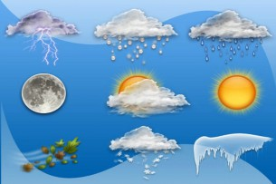 Штормовое предупреждение: 24-26 февраля в Кыргызстане временами дожди, в предгорных и горных районах снег