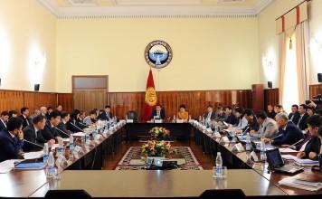 Правительство опровергло заявление Текебаева о трудоустройстве родственников чиновников в ЕЭК