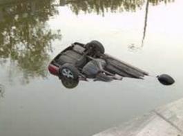 При падении автомобиля в джалал-абадскую реку погибли двое