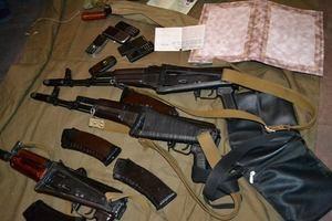 Задержаны подозреваемые в незаконном хранении огнестрельного оружия