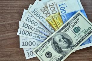 Кыргызский сом укрепил свои позиции по отношению к доллару США в ушедшем году
