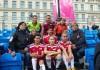 Кыргызские футболисты стали серебряными призерами чемпионата по уличному футболу