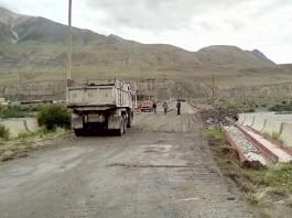 В селе Энильчек отремонтировали самый длинный в Кыргызстане мост