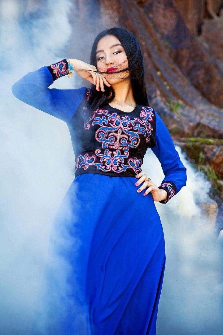 самые красивые киргизки фото для крестин: нитки