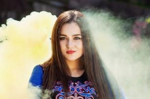 Самую красивую девушку из Кыргызстана выбрали в Красноярске (фото)