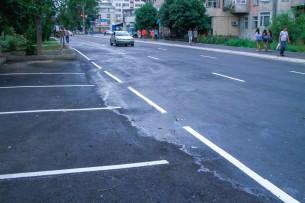 После капремонта открыли столичную улицу Исанова