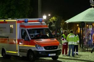В Баварии смертник устроил взрыв в кафе