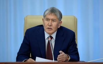 Алмазбек Атамбаев будет лечиться в Москве