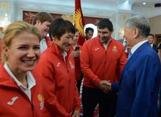 Атамбаев: Кыргызстанские спортсмены получат 7 млн сомов за «золото» на Олимпийских играх