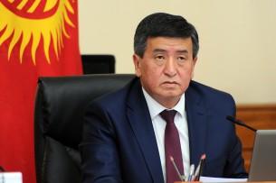 Жээнбеков подписал постановление о реорганизации в Министерства транспорта и дорог