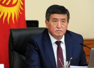 Жээнбеков призвал усилить пожарный надзор за строящимися зданиями