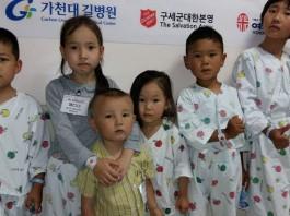 «Армия спасения Кореи» прооперировала 6 детей из Кыргызстана