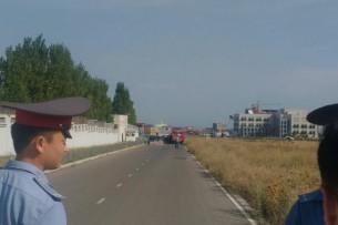 Террорист-смертник взорвал машину у посольства Китая в Бишкеке, есть жертвы