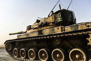 Турецкие танки вошли в Сирию