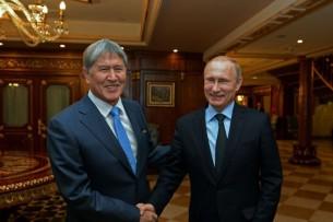 Алмазбек Атамбаев прибыл в Россию