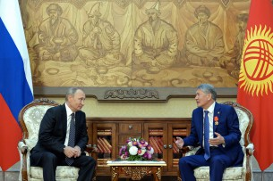 Состоялся телефонный разговор Алмазбека Атамбаева с Владимиром Путиным