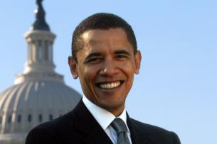 Обама впервые после ухода с поста президента выступил перед публикой