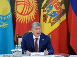 Атамбаев: На референдуме сделан большой шаг в сторону закрытия лазеек для авторитарного режима