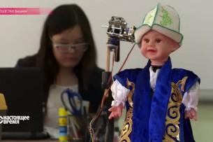 Бишкекская школьница создала танцующего «Кара-Жорго» робота