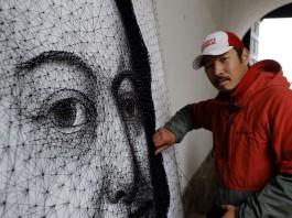 Художник Азамат Джаналиев получил свидетельства «Кыргызпатента» на свои работы
